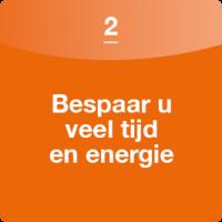 bespaar tijd en energie